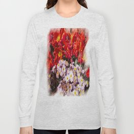 Flowers in town Long Sleeve T-shirt