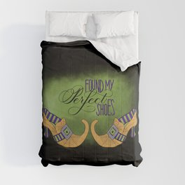 Halloween-Found My Perfect Shoes-Witch Shoes Comforters