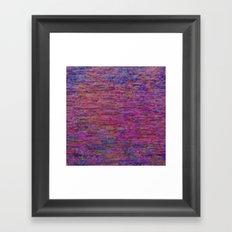 23-02-45 (Pink Lady Glitch) Framed Art Print