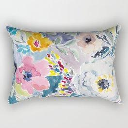 Watercolor Flower 2 Rectangular Pillow