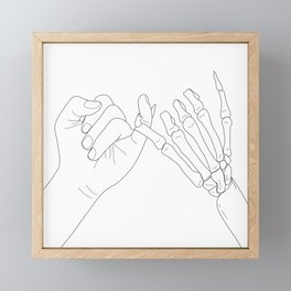 Unbroken Promises II Framed Mini Art Print