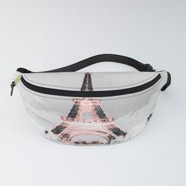 pariS Black & White + Pink copyright 2sweet4wordsDesigns Fanny Pack