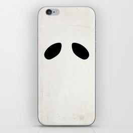 """Ghost"" Halloween Poster iPhone Skin"