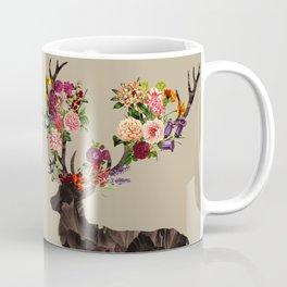 Spring Itself Deer Flower Floral Tshirt Floral Print Gift Coffee Mug