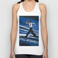 camel Tank Tops featuring Camel by Benedict Mayer