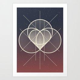 Complicated Art Print