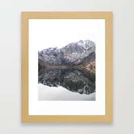 Lake Reflections Framed Art Print