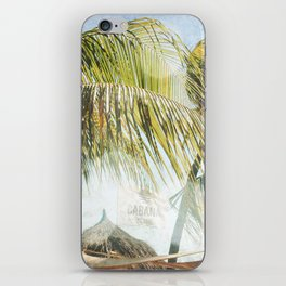 Cabana Beach iPhone Skin