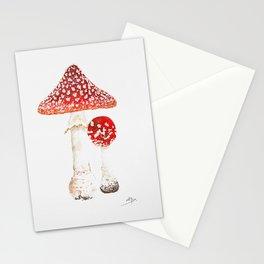Mushroom Fly agaric Stationery Cards