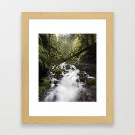 Whitewater Flow Framed Art Print