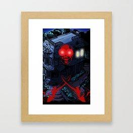 MURDERHOUSE Framed Art Print