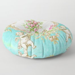 French Baroque Patisserie Tea Floor Pillow