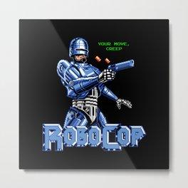 Your move, creep! Metal Print