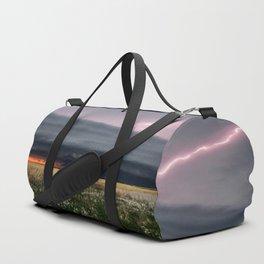 Steamroller - Storm Spans the Kansas Horizon Duffle Bag