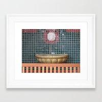 health Framed Art Prints featuring HEALTH by Manuel Estrela 113 Art Miami