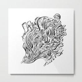 Flow 007 Metal Print