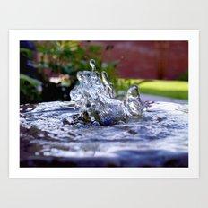 Dancing Water Art Print