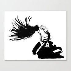 Air Guitar Canvas Print