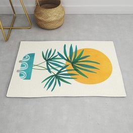 Little Palm + Sunshine Rug