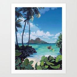 Our Island Art Print