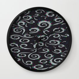 Inside Frill Wall Clock