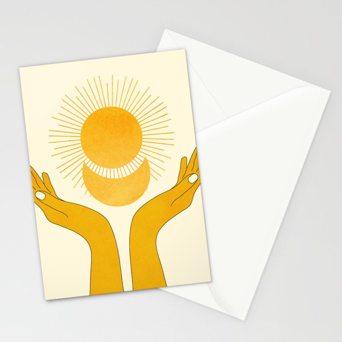 Holding the Light Stationery Cards