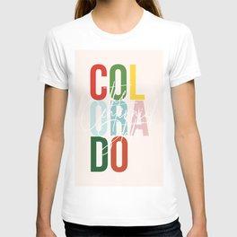 "Colorado ""The Centennial State"" Color T-shirt"