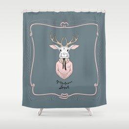 Epistolarus Lepus (brume) Shower Curtain