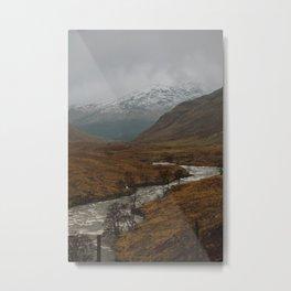 Glen Etive, Scotland Metal Print