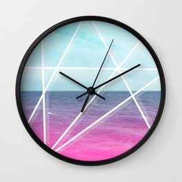 Sea Prism Wall Clock