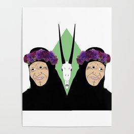 Bedouin beauty Poster