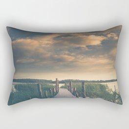 No room for improvement Rectangular Pillow