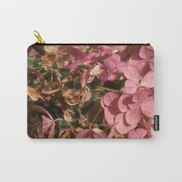 Bush Pink Petals Carry-All Pouch
