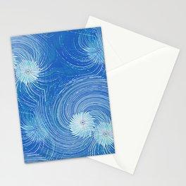 Galaxy Blues Stationery Cards