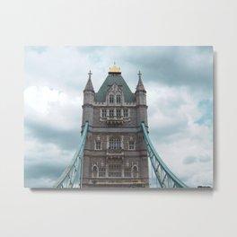Tower Bridge, London Metal Print