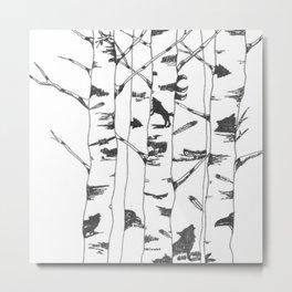 Unseen Forest Metal Print