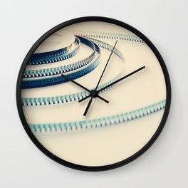 super 8 film III Wall Clock