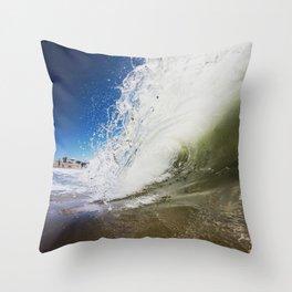 Bright Smasher Throw Pillow