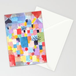"""Paul Klee """"Southern gardens 1919"""" Stationery Cards"""