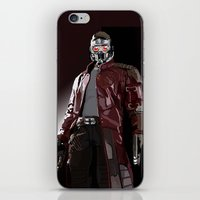 star lord iPhone & iPod Skins featuring Star Lord Fan Art by Vito Fabrizio Brugnola