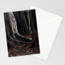 Spooky Winter Trees Stationery Cards