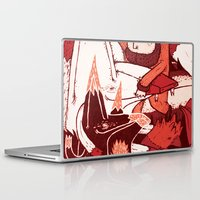it crowd Laptop & iPad Skins featuring Crowd – FuFu's by René Barth