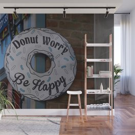 Don't worry be #Happy Wall Mural