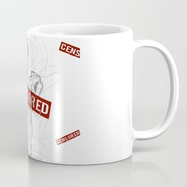 Marylin Censored Coffee Mug