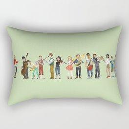 Les Amis orchestra Rectangular Pillow