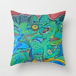 Chiapas Throw Pillow