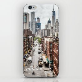 New york City USA iPhone Skin