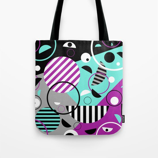 Bits And Bobs - Abstract, geometric design Tote Bag