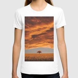 Wheat Field at Sunset T-shirt