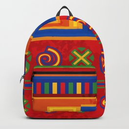 Red Mexico Backpack